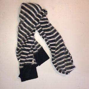 Michael Kors Cashmere striped scarf